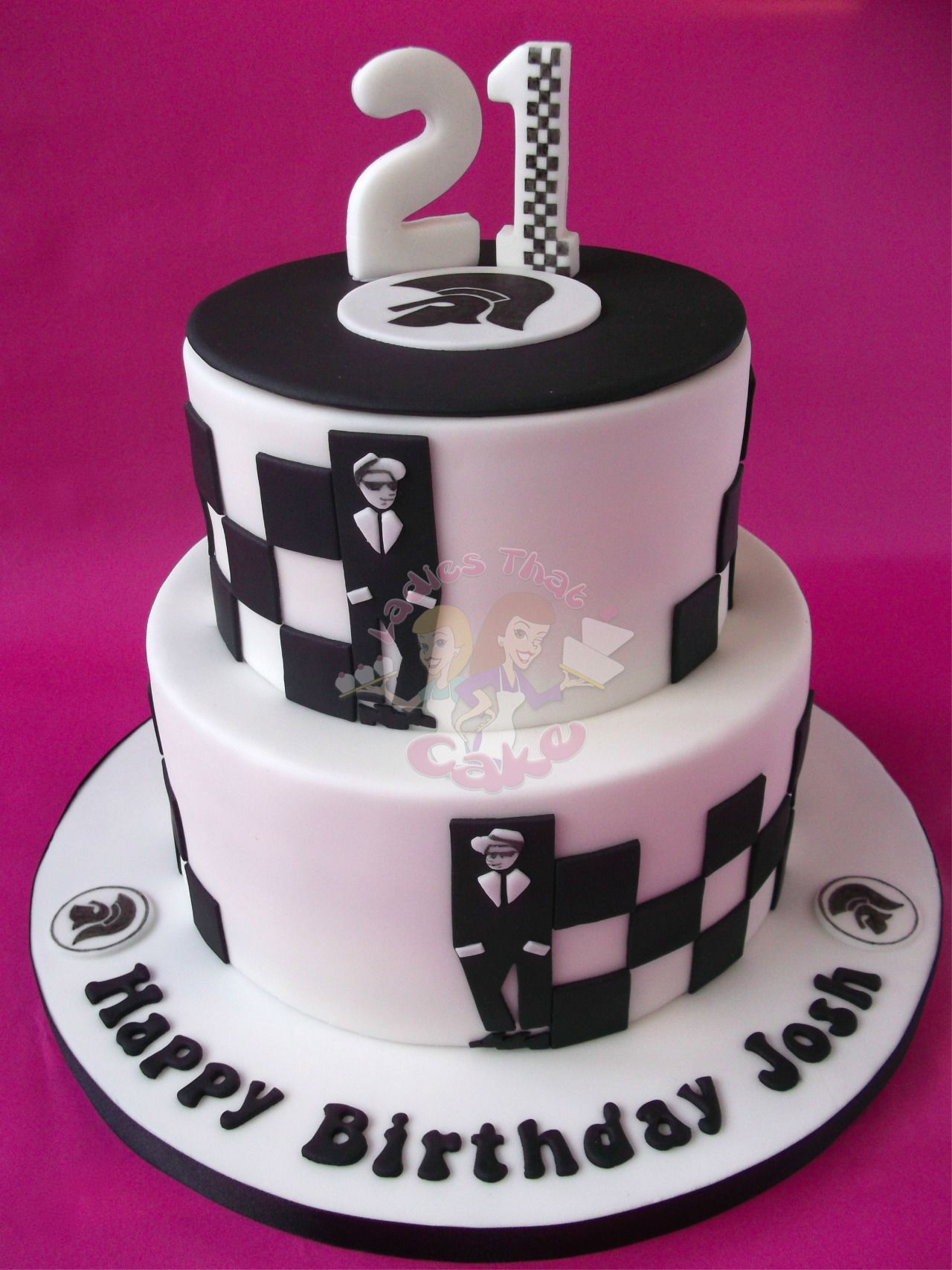 Ska Birthday Cakes