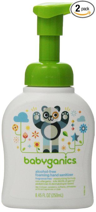 Babyganics On The Go Alcohol Free Foaming Hand Sanitizer