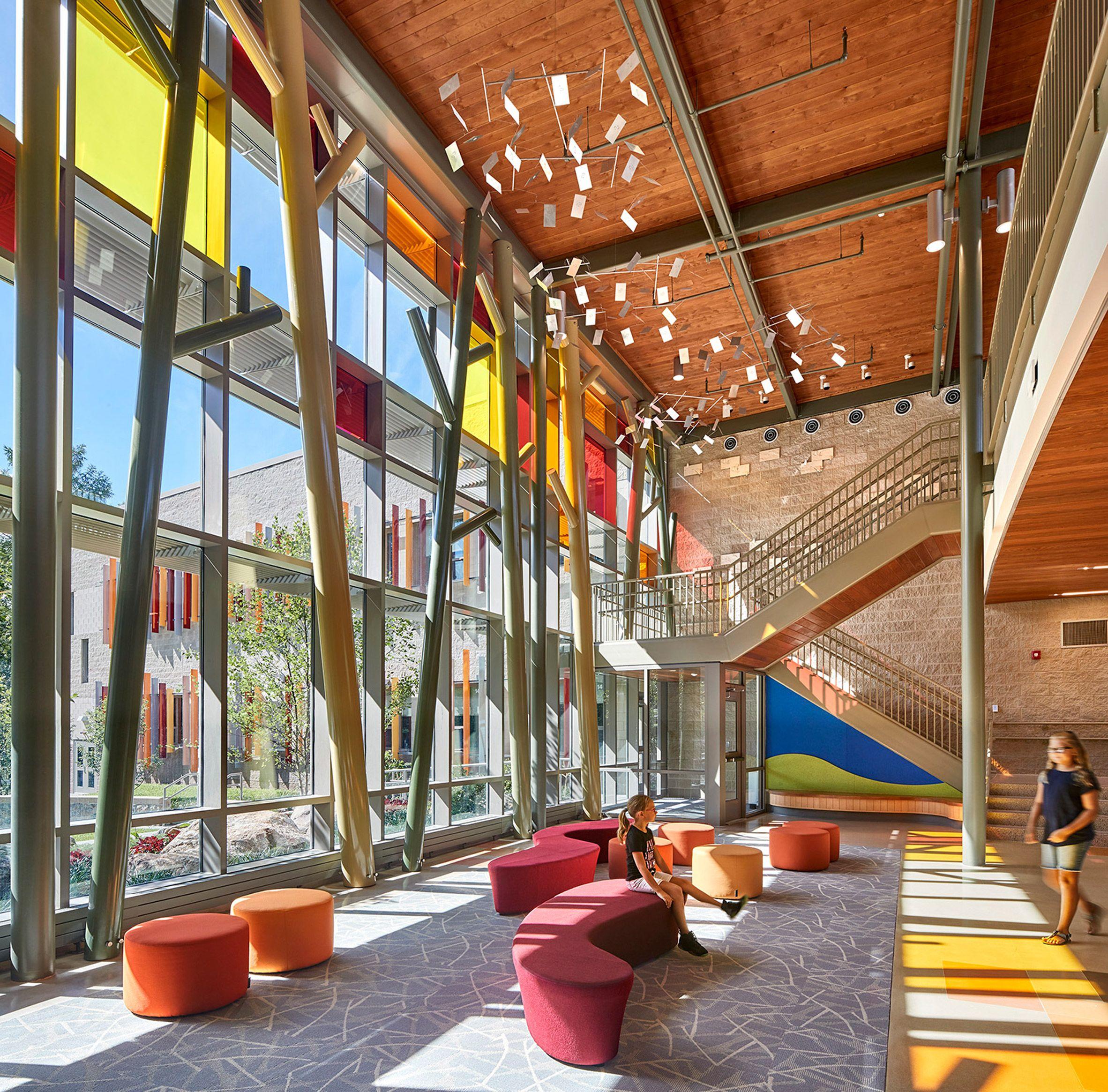 School Interior Design: Sandy Hook Elementary School In Connecticut, USA By Svegal