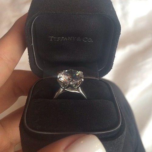 An Engagement Ring With Some Wow Factor Tiffany Engagement Ring