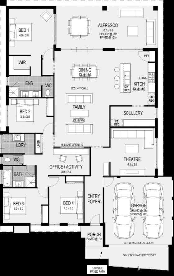 Home Designs Dream House Plans House Construction Plan Home Design Floor Plans