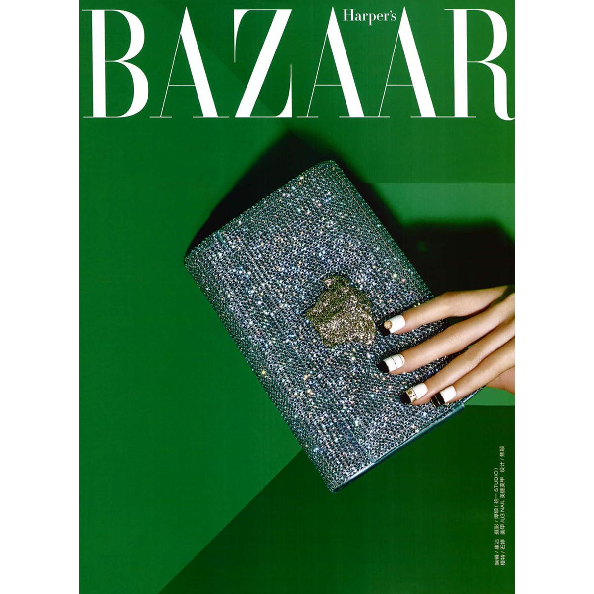 #VersaceEditorials - Glossy green. Harper's Bazaar China - July '15. Editor: Kang Jie Photographer: Tan Shuo