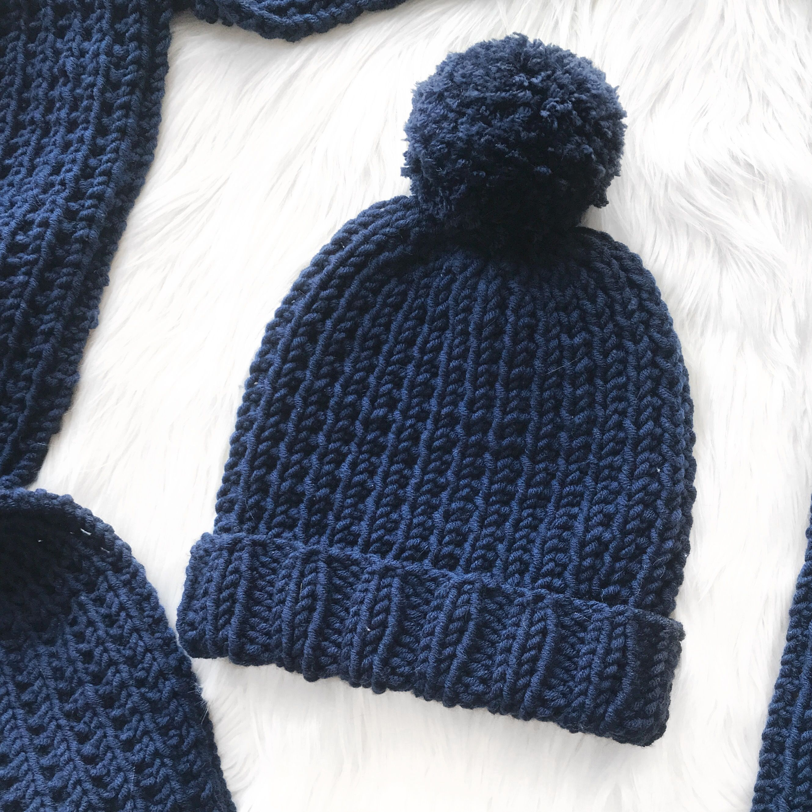 Free and easy knitting pattern | Beanie knitting patterns ...
