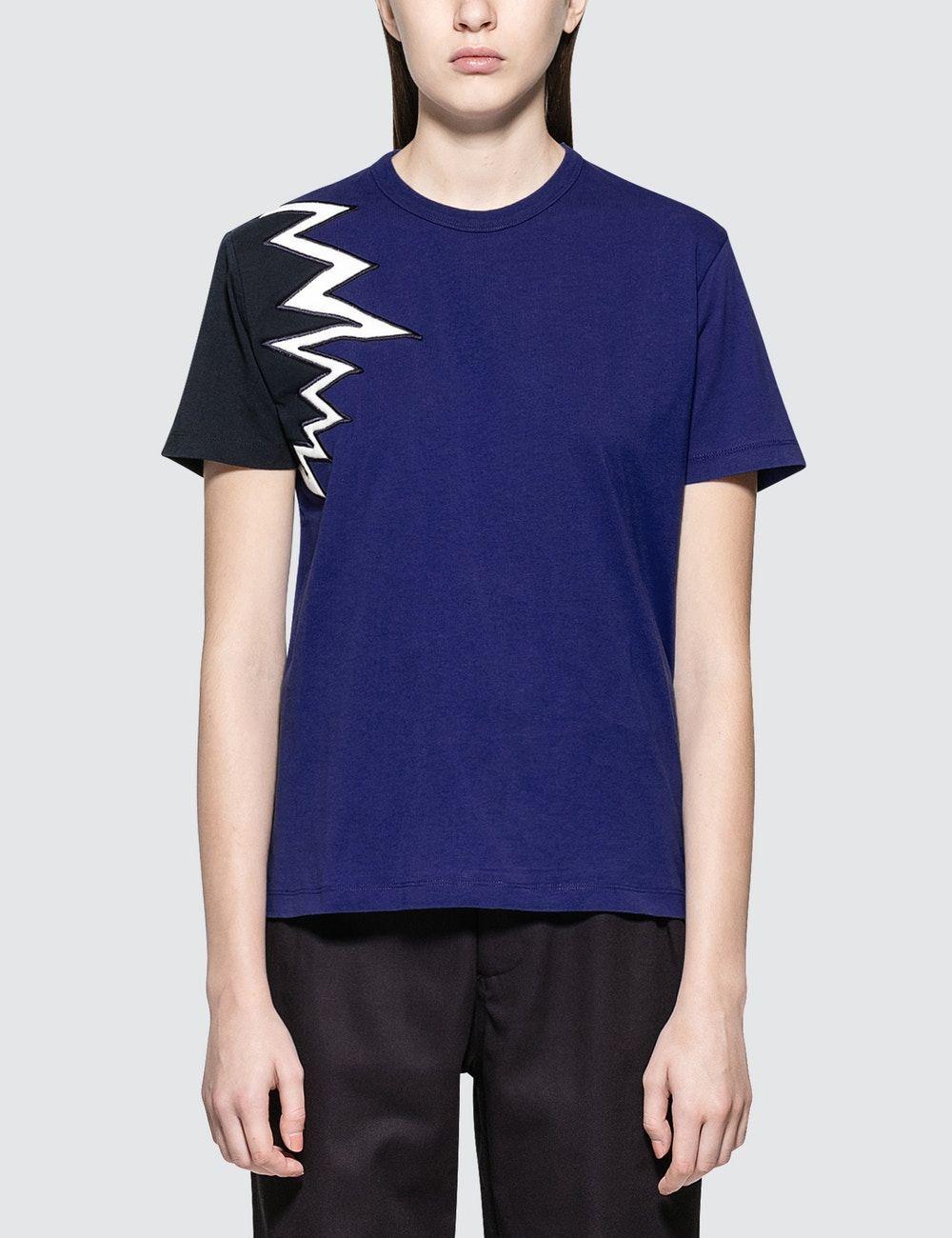 Maison Kitsune Embroidery S/S T-Shirt