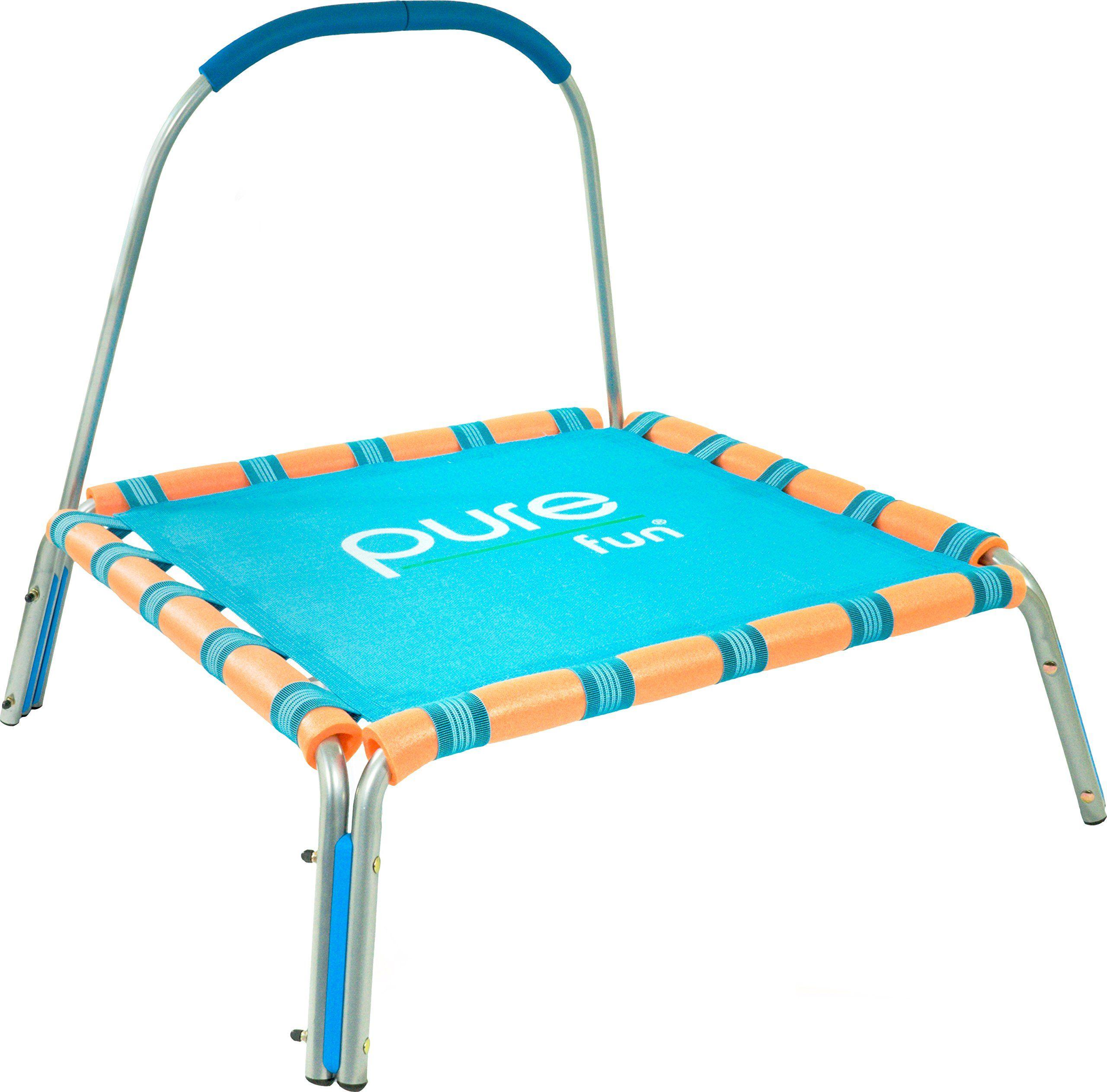 Pure Fun Kids Jumper Trampoline Kids trampoline, Toddler