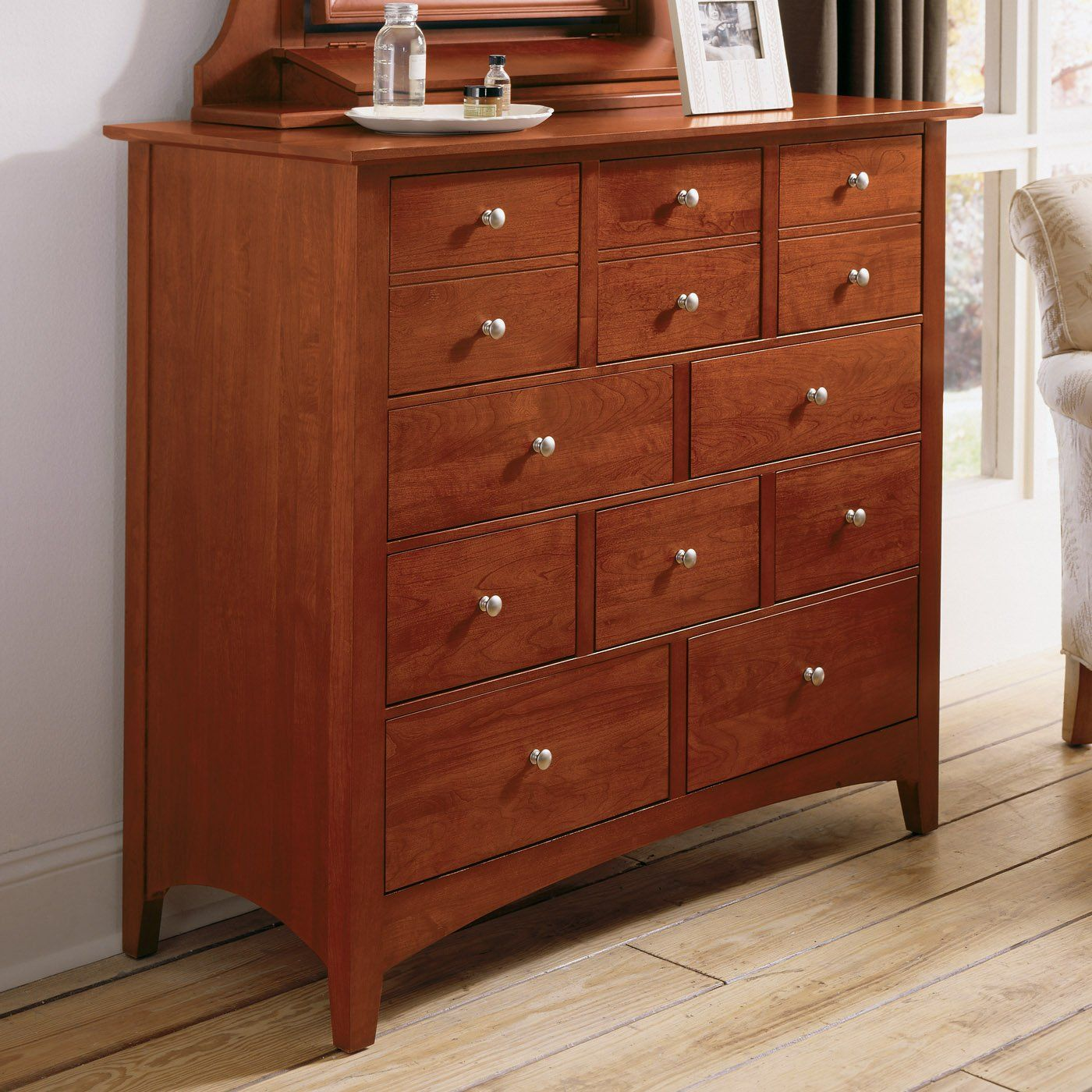 Kincaid Furniture 43-175 Gathering House Mule Chest, Satin Cherry ...
