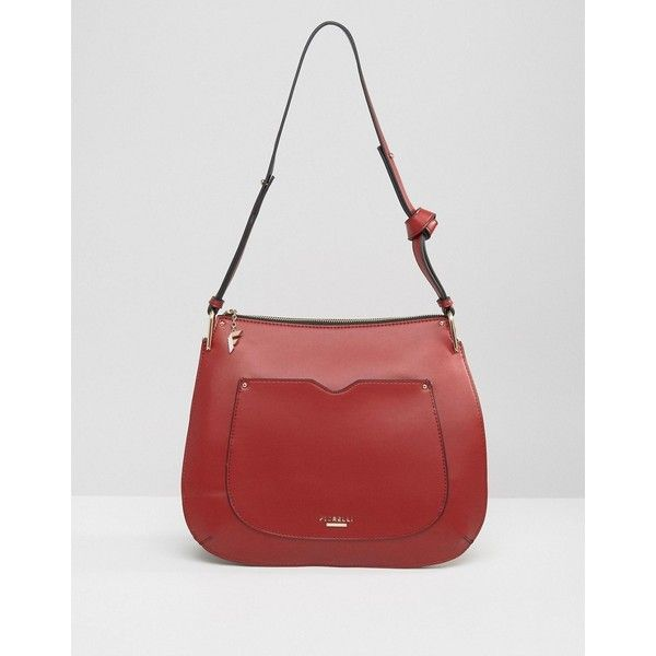 c7fae43ca2359c Fiorelli Boston Saddle Hobo Bag ($45) ❤ liked on Polyvore featuring bags,  handbags, shoulder bags, red, fiorelli, hobo purses, red handbags, fiorelli  purse ...
