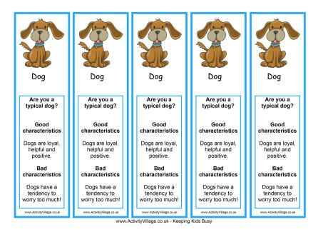 chinese new year bookmarks freeprintabledogbookmarks