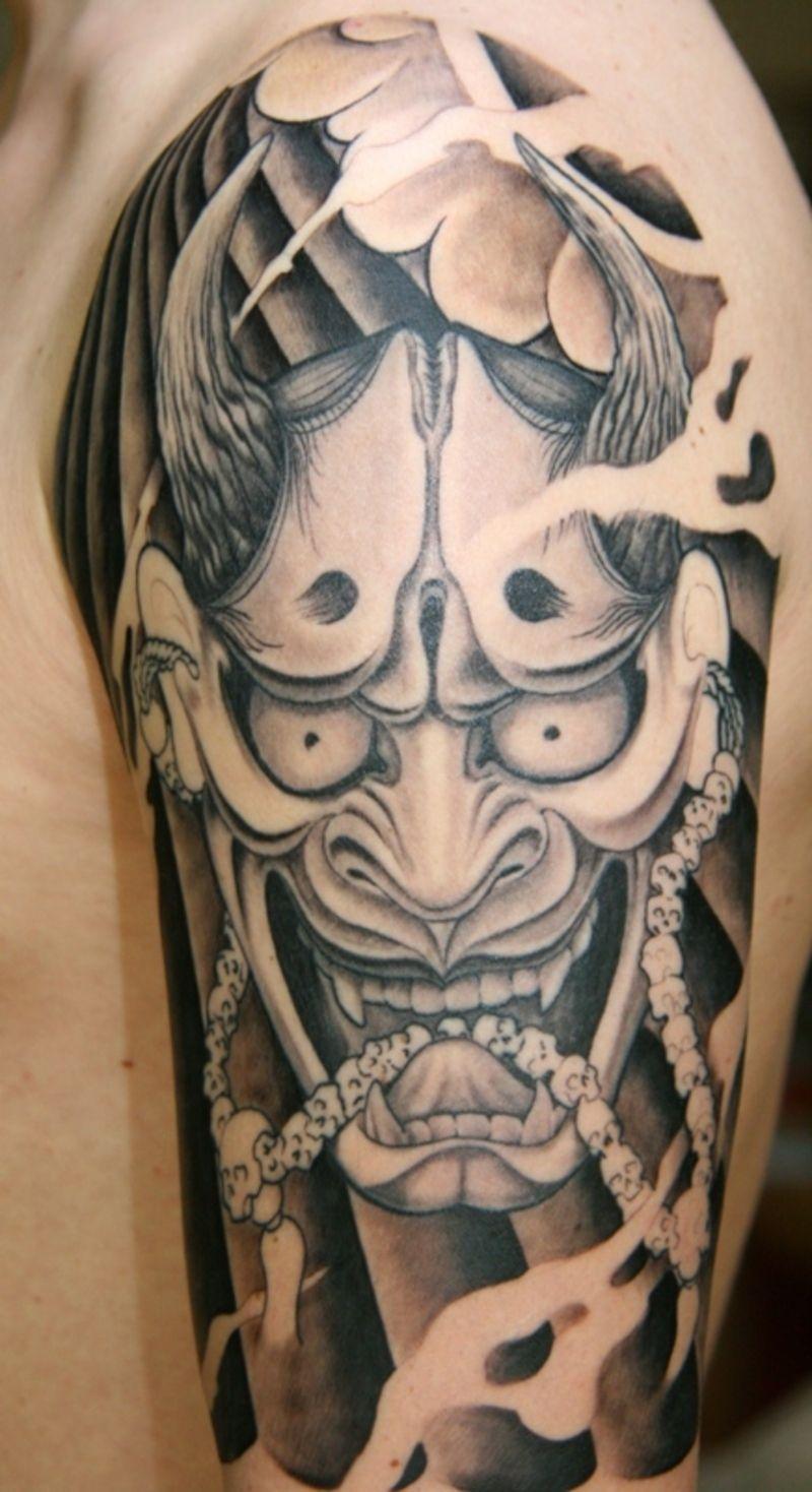 kabuki tattoo pesquisa google tatuajesss pinterest tattoo mask tattoo and tatoo. Black Bedroom Furniture Sets. Home Design Ideas