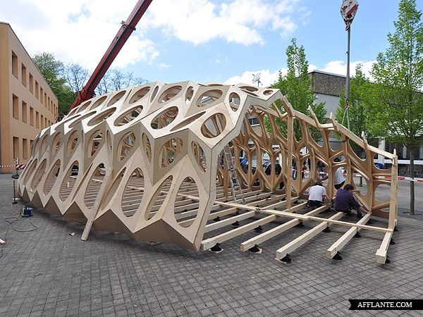 Pop-up Pavilion // BOWOOSS Research Project | Afflante.com