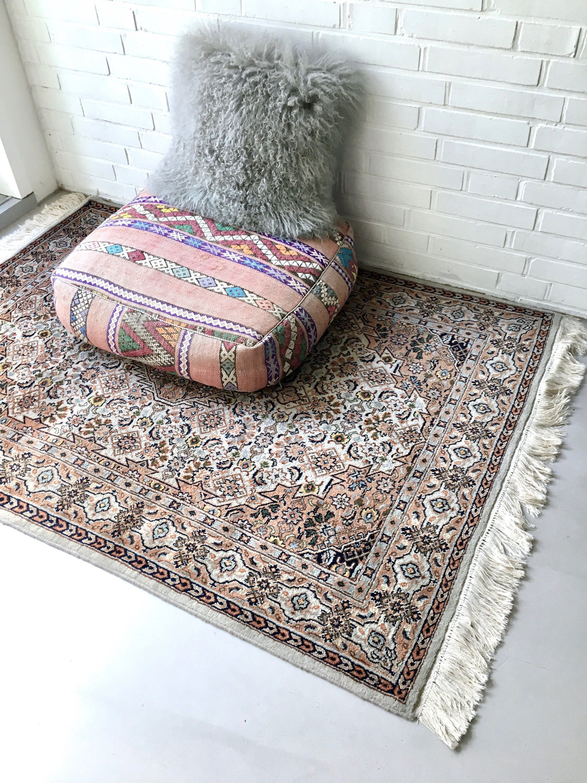 Vintage Teppich Perserteppich Orient Teppich Mid Century Teppich