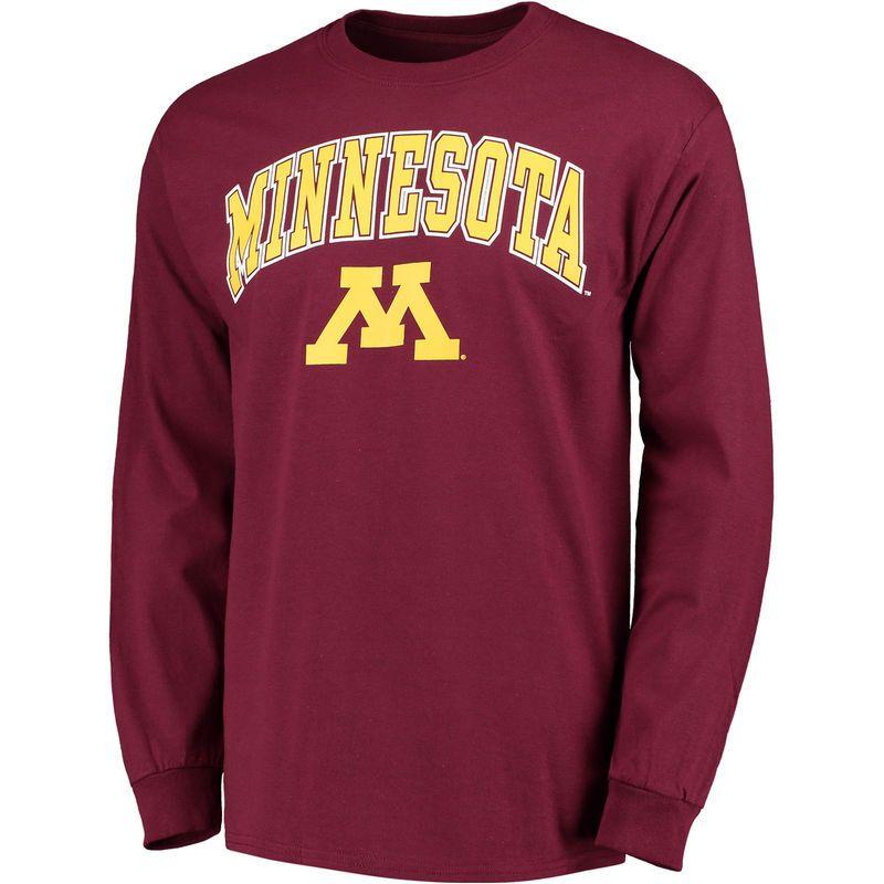 fe7c37af Men's Fanatics Branded Maroon Minnesota Golden Gophers Campus Long Sleeve T- Shirt