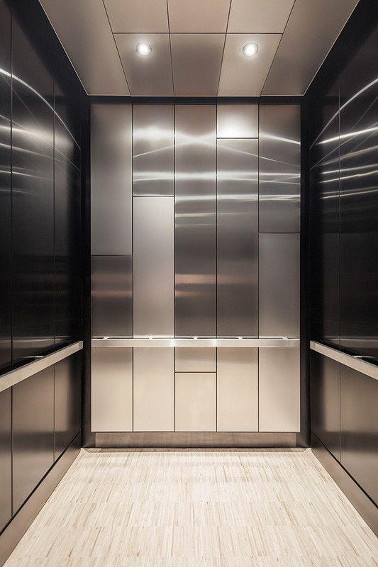 Levele 108 Elevator Interior With Customized Panel Layout