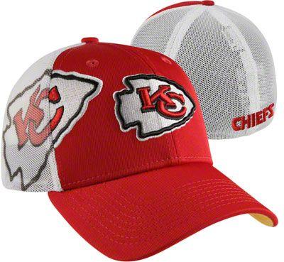 02ba86690b9 Kansas City Chiefs Red New Era Mesh Back Flex Hat