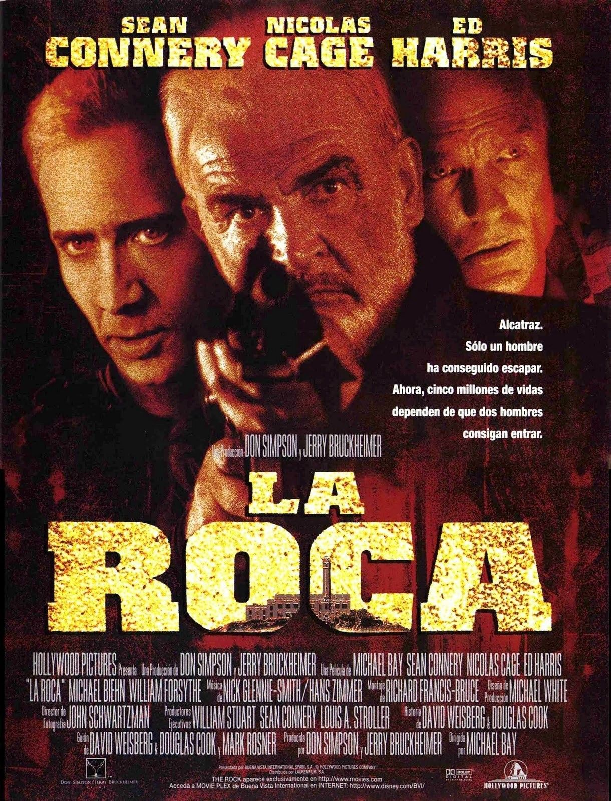 Ver La Roca Online Gratis 1996 Hd Pelicula Completa Espanol The Rock Movies Action Movies Original Movie Posters