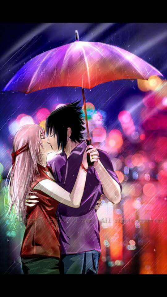 Sasuke And Sakura Uchiha Wallpaper Love Couple Family