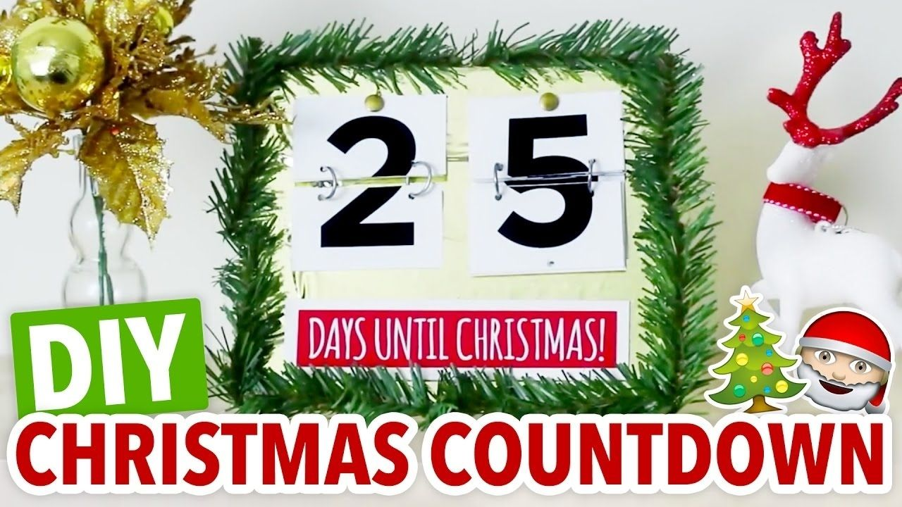 Calendar Countdown To Christmas in 2020 Christmas