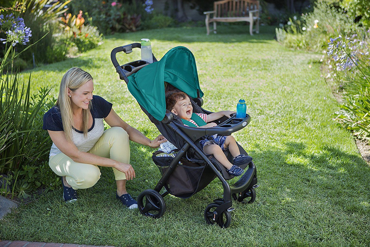 Graco Ready2grow Click Connect LX Stroller Review Click