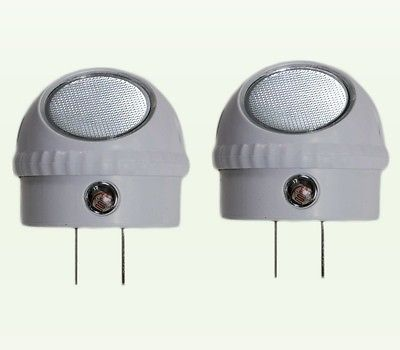 2 Pack Led Guide Night Light With Rotating 360 Swivel And Auto Sensor Control Night Light Dusk To Dawn Led Night Light