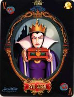 DV Card 1: Evil Queen by Maleficent84