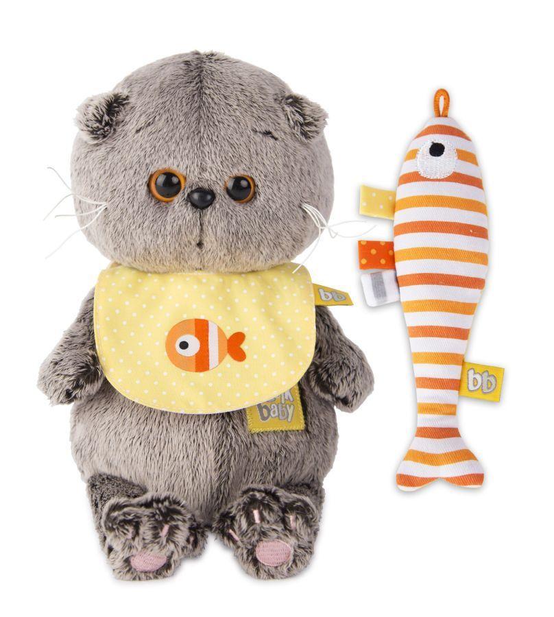 Мягкая игрушка Budi Basa (Кот Басик в футболке с принтом ... | 900x808