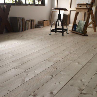 Un Sol Stratifie Pour Une Decoration Retro Plancher Bois Plancher Planche Sapin