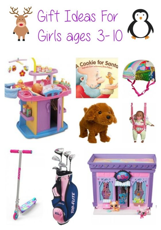 Gift Guide for little girls - gift ideas for christmas or birthdays for  girls roughly ages 3-10 years old. Toys the kids will love! - Christmas Gift Ideas For Girls Christmas Gift Ideas & Holiday Gift