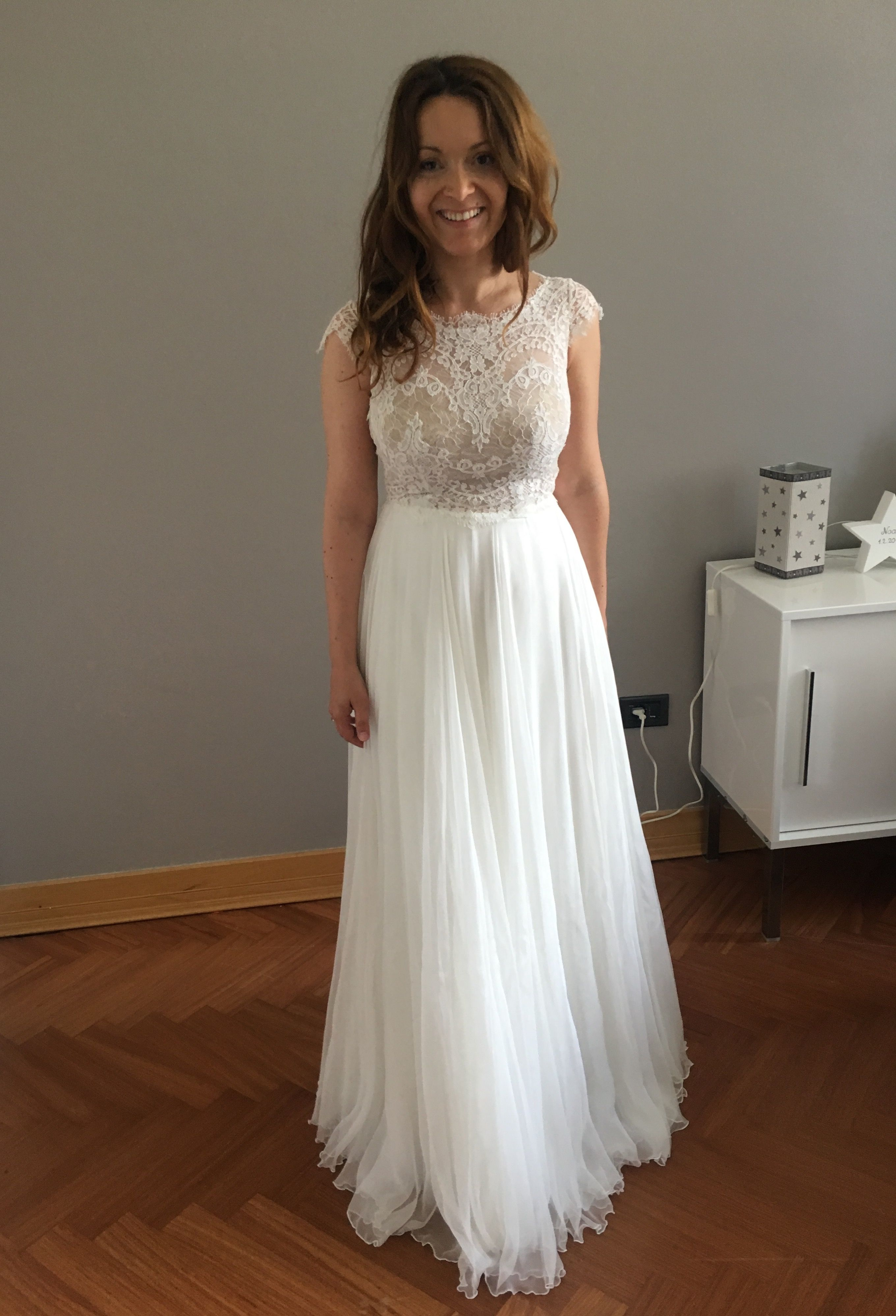 Anna Kara Thea nude Brautkleid Wedding dress SALE 1.600 EUR ...