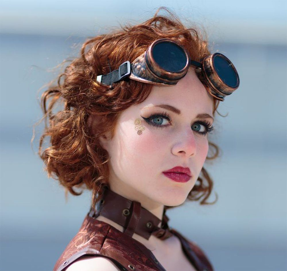Hochzeit Frisuren 2017 Steampunk Frisuren Steampunk Wedding Hair Steampunk Hairstyles Unique Wedding Hairstyles