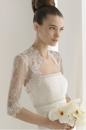 Beautiful Delicate Bolero   Wedding Dresses   Pinterest   Boleros ...