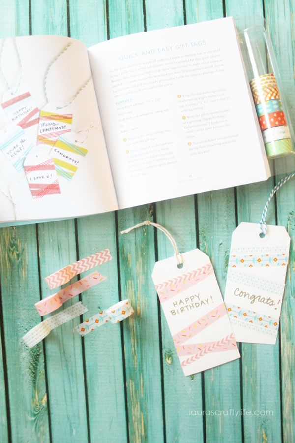 Washi Tape Tags - Washi Tape Crafts