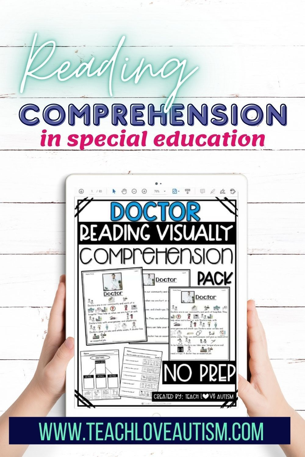 Reading Comprehension In Special Education Teach Love Autism Special Education Special Education Behavior Special Education Reading [ 1500 x 1000 Pixel ]