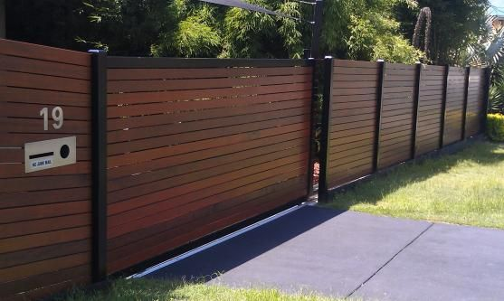 Fence designs by bettaline fencing home reno ideas for Carport gate ideas