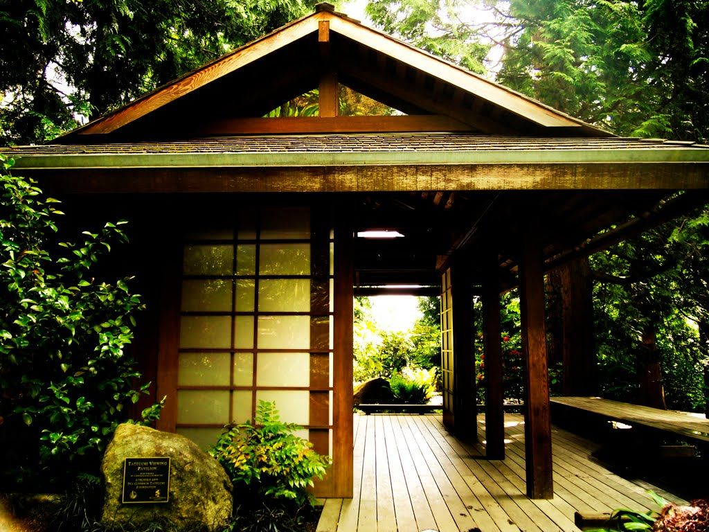 Bellevue botanical gardens japanese tea house favorite for Japanese house garden