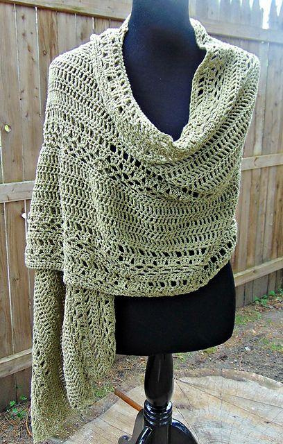 Ravelry: Milan Summer Wrap pattern by Sheri Weber | Crochet (hope to ...