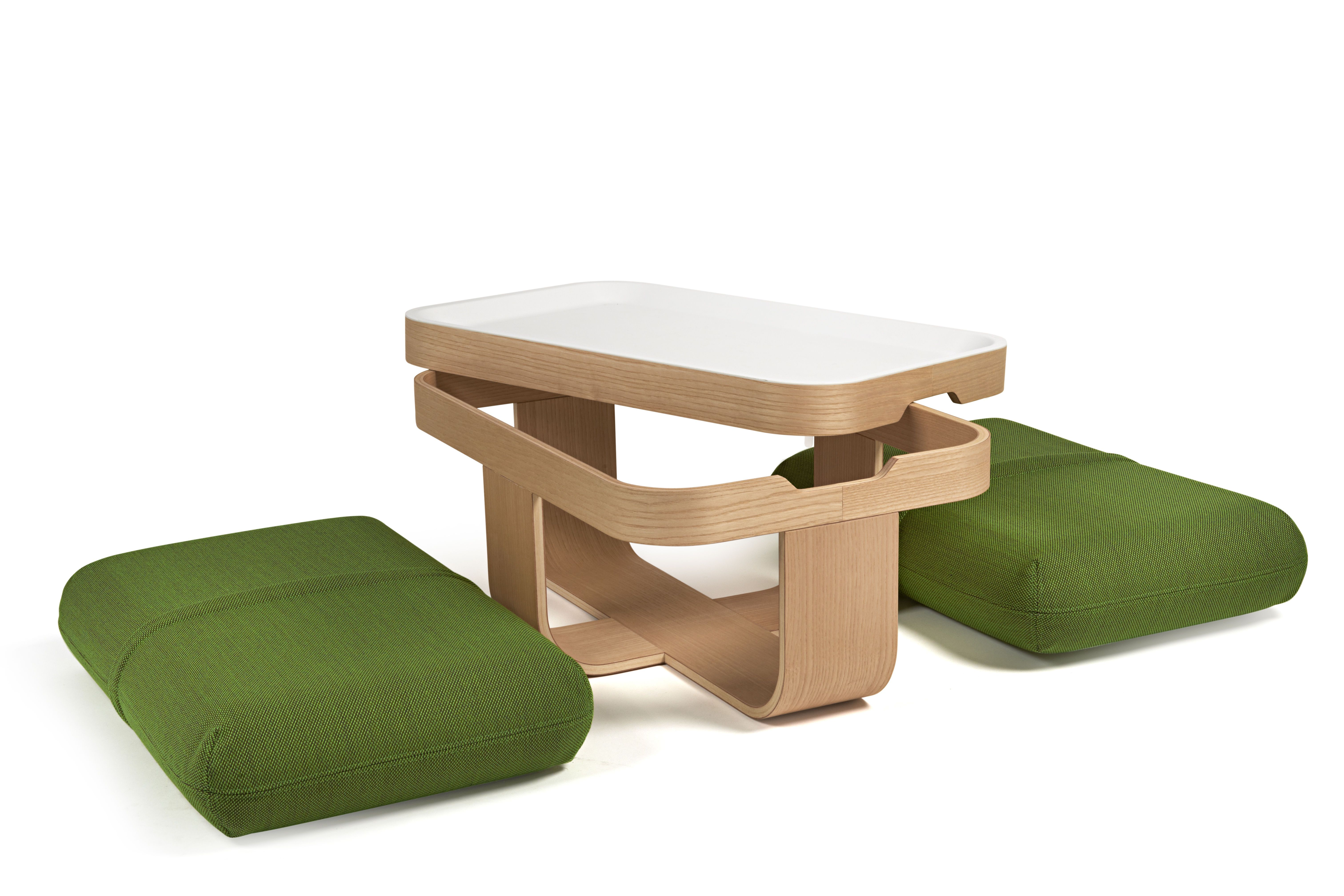 Tavolino Poggiapiedi ~ Tavolino mister t trasformabile in pouf e poggia piedi design