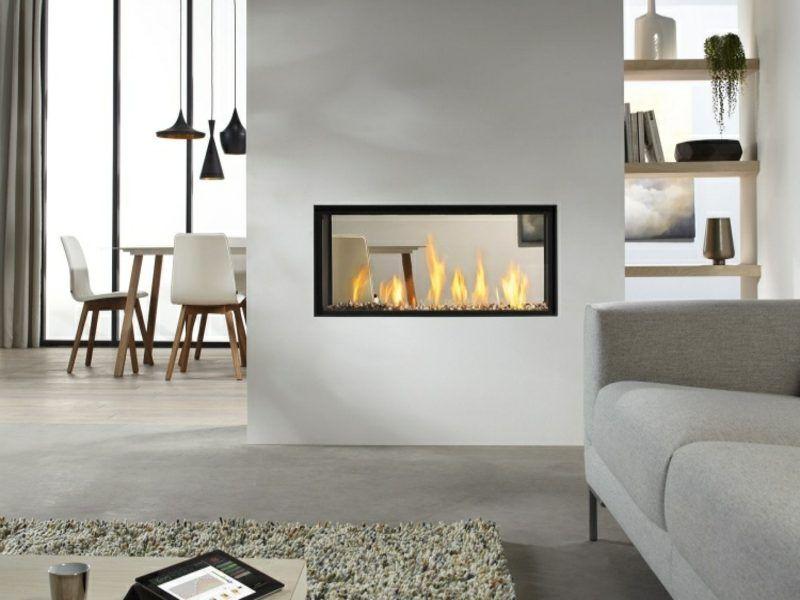 Moderne Kamine Als Raumteiler 50 tipps für stilvolle und moderne kamine interiors