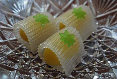 茶席上生菓子『夏楓』 : 本日も和菓子日和です