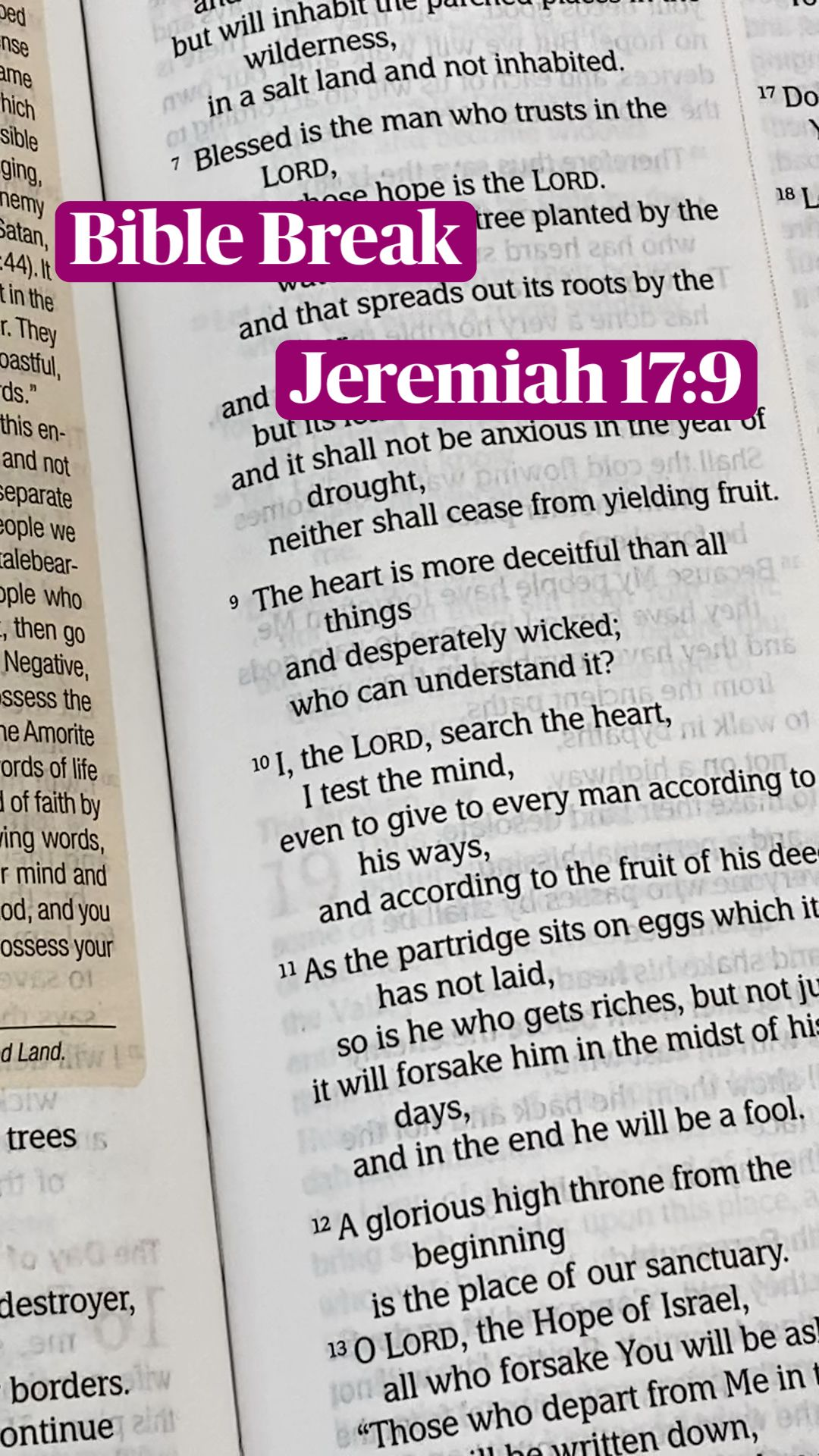 Bible Break