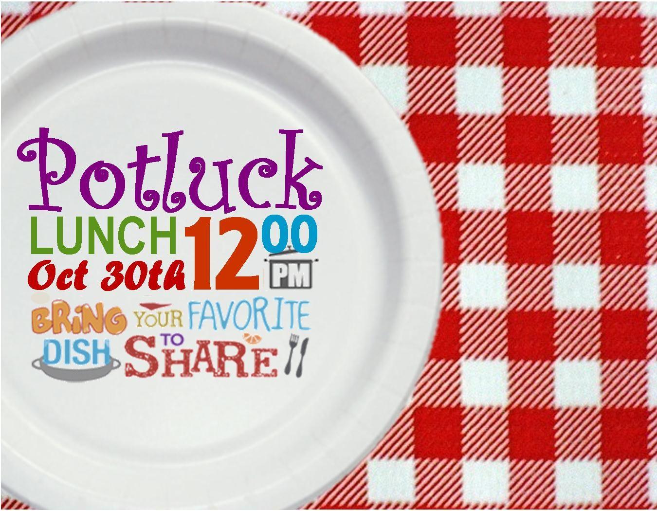 Potluck Lunch Invitation