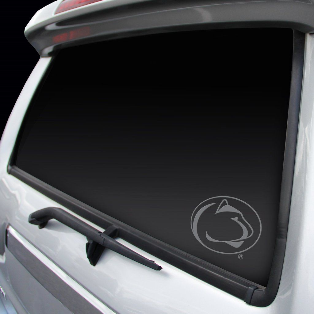 Penn State Nittany Lions Decal Window Graphic Chrome Penn State