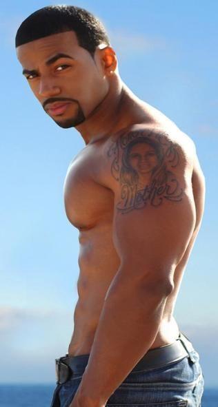 Pictures of good looking black men