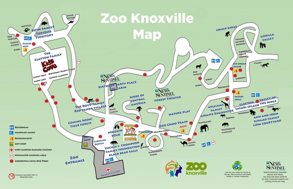 This is on my places to go this summer Knoxville Zoo I really just