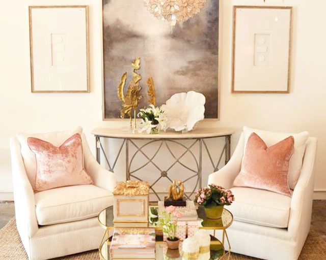 Providence Design Little Rock Ar Brighten Up A E With Blush Pink Velvet Pillows
