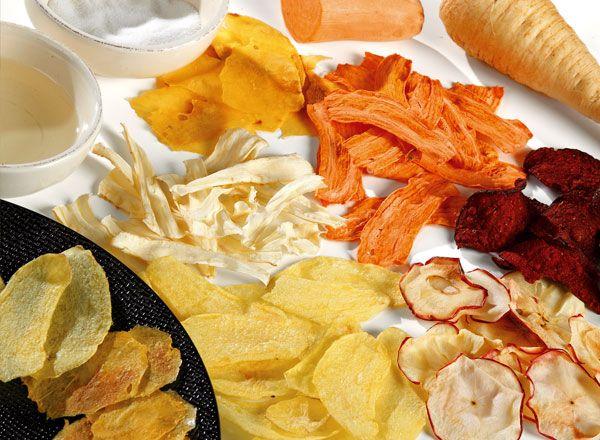 Recette pour faire des chips de l gumes au four avec wesco family chips de l gumes pinterest - Chips fait maison au four ...