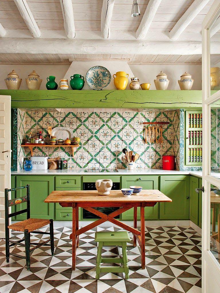 Κατοικία στην Ισπανία   Pinterest   Schöner wohnen, Einrichtung und ...