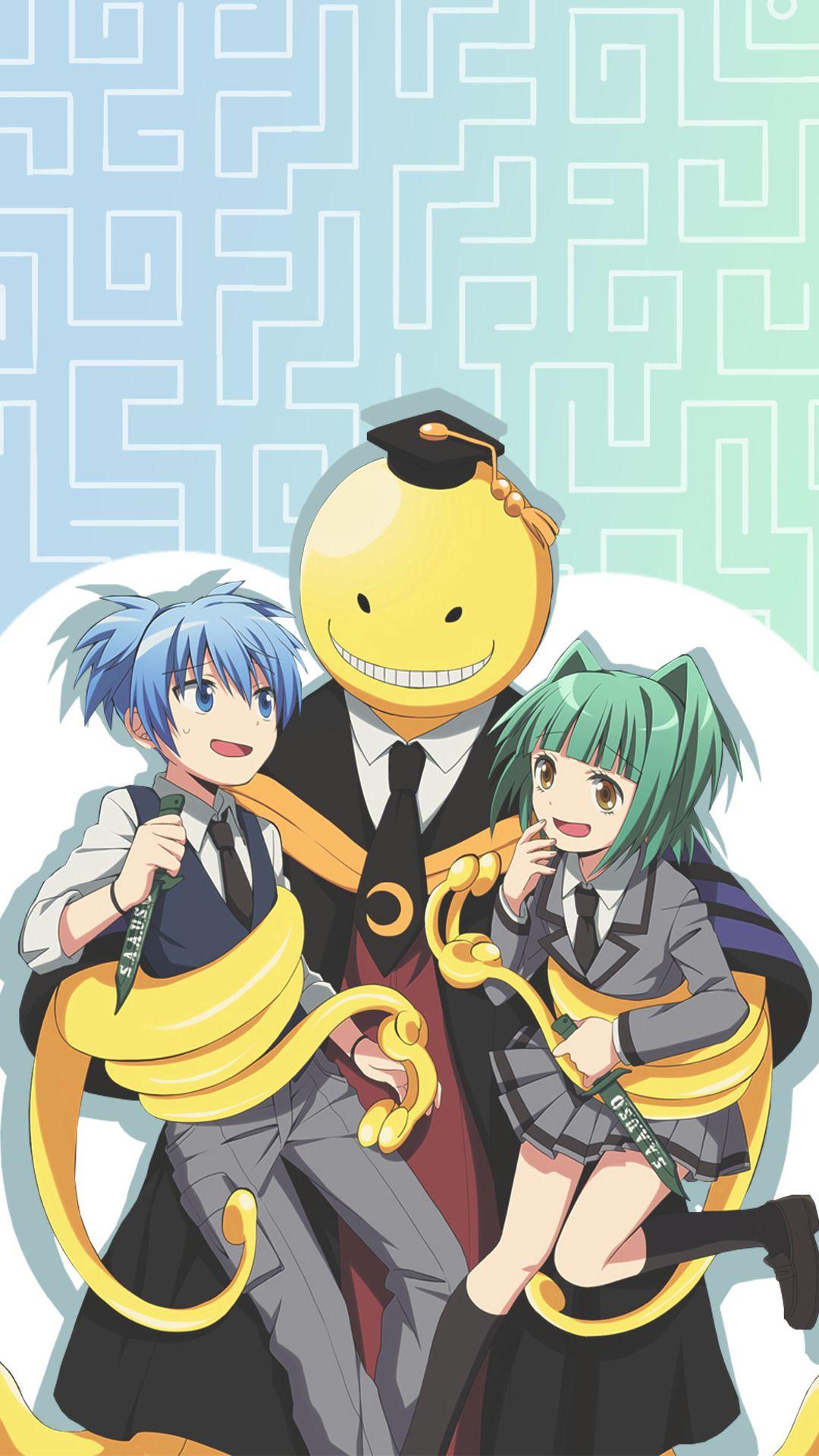 Wallpapers And Lockscreen Assassination Classroom Ansatsu Kyoushitsu Assassination Classroom Assasination Classroom Anime
