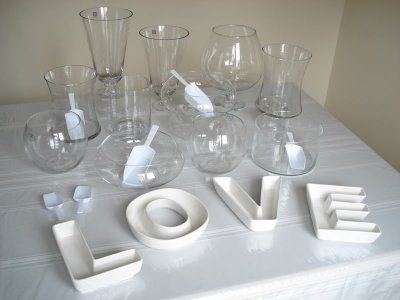 Candy Buffet containers....