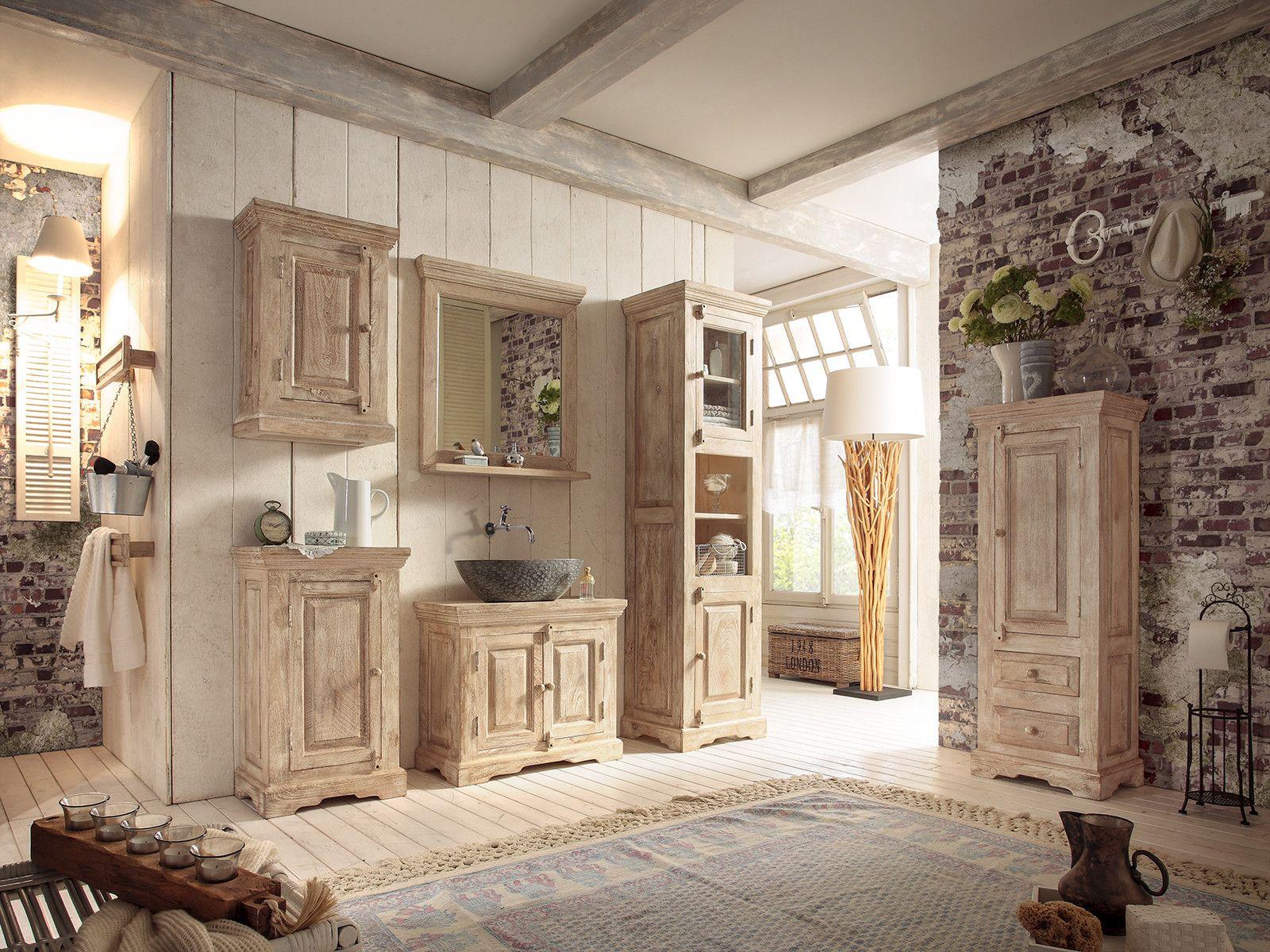Midischrank badezimmer ~ Badezimmer gestalten natursteinwand badmöbel holz design bade t