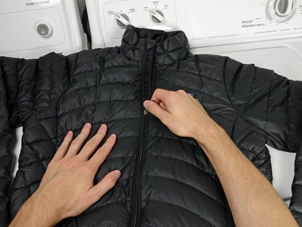 ca7186a1f7 Repair Your Gear - Patagonia® Repair   Product Care Guides  How to Wash and  Dry a Patagonia Down Jacket How to wash your Patagonia Down Jacket.
